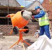 Как правильно замешивать раствор в бетономешалке