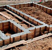 Пропорции бетона для фундамента таблица