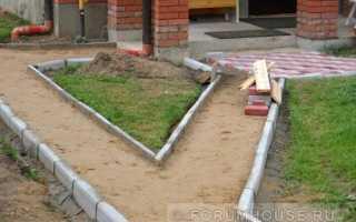 Тротуарная плитка зазор