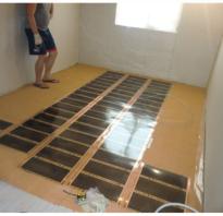 Как укладывать фанеру на бетонный пол
