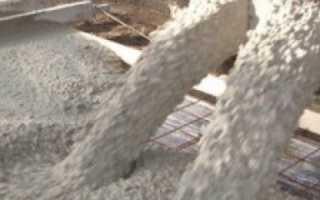 Характеристики бетона для фундамента