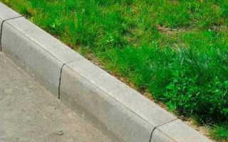 Как правильно установить поребрик тротуарный