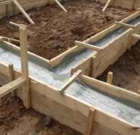 Фундамент для 1 этажного дома из газобетона