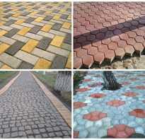 Устройство тротуарной плитки технология
