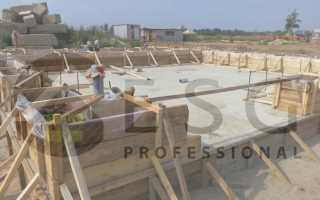Фундамент для дома из газобетона с подвалом