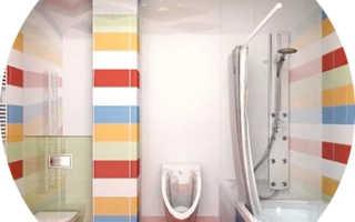 Отделка туалета с ванной фото