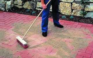 Смесь для затирки швов тротуарной плитки