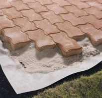 Укладка тротуарной плитки с геотекстилем технология