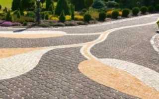 Тротуарная плитка способ укладки