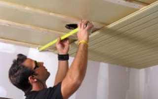 Как зацементировать потолок