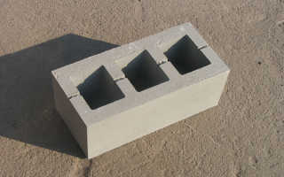 Раствор для кладки бетонных блоков