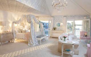 Шторы для кровати в спальне