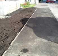 Укладка асфальтобетонного покрытия на тротуаре