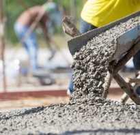 Мешков цемента на куб бетона