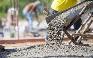 Сколько необходимо цемента на куб бетона