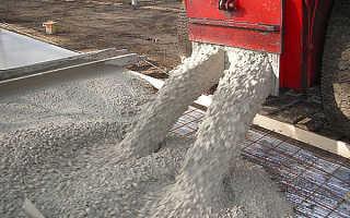 Раствор из пгс и цемента для фундамента
