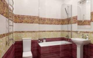 Декоративная плитка для ванной комнаты
