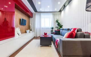 Проект гостиной комнаты 18 кв м