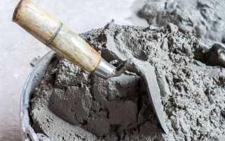 Сколько весит куб цементного раствора