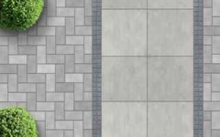 Тротуарная плитка микс