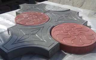 Производства тротуарной плитки