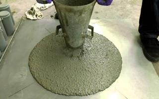 Присадки для цементного раствора