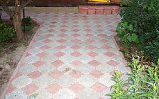 Тротуарная плитка клевер фото укладки