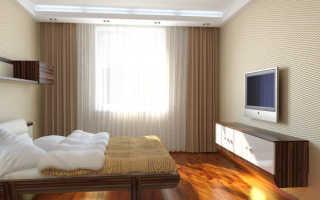 Проект спальной комнаты