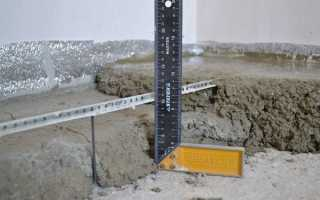 Толщина бетонной плиты под автомобиль