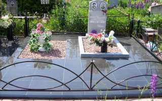 Укладка тротуарной плитки на могилу