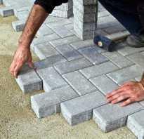Чем заменить бордюр при укладке тротуарной плитки