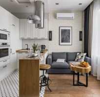 Как зонировать кухню и гостиную