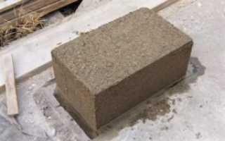 Опилки цемент жидкое стекло