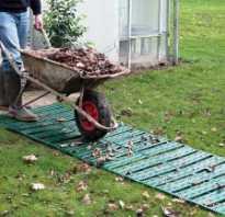 Альтернатива брусчатки во дворе