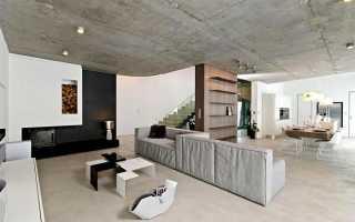 Как утеплить бетонный потолок в частном доме