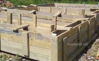 Фундамент для стен из газобетона