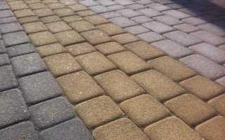 Цементно песчаная смесь для брусчатки
