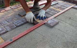Нужен ли цемент при укладке тротуарной плитки