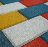 Тротуарная плитка материал