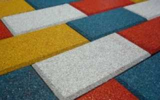 Материал для изготовления тротуарной плитки