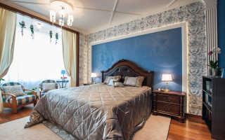 Декоративная отделка спальни фото