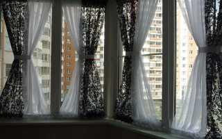 Как сшить штору на балкон своими