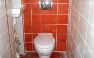 Чем можно отделать туалет кроме плитки