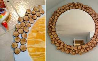 Как украсить зеркало в прихожей своими