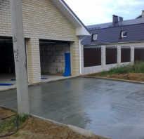 Укладка бетона своими руками видео