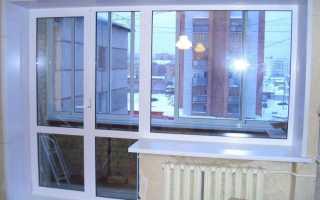 Дверцы на балкон