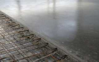 Плита бетонная армированная