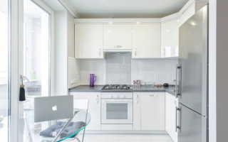 Кухни в светлую комнату