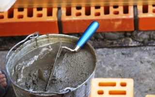 Приготовление раствора для укладки плитки
