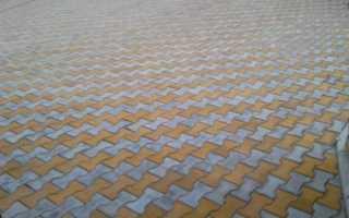 Брусчатка тротуарная катушка